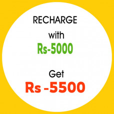 Recharge with 5000 & get 5500