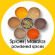 Masala's | Spices |powdered spices